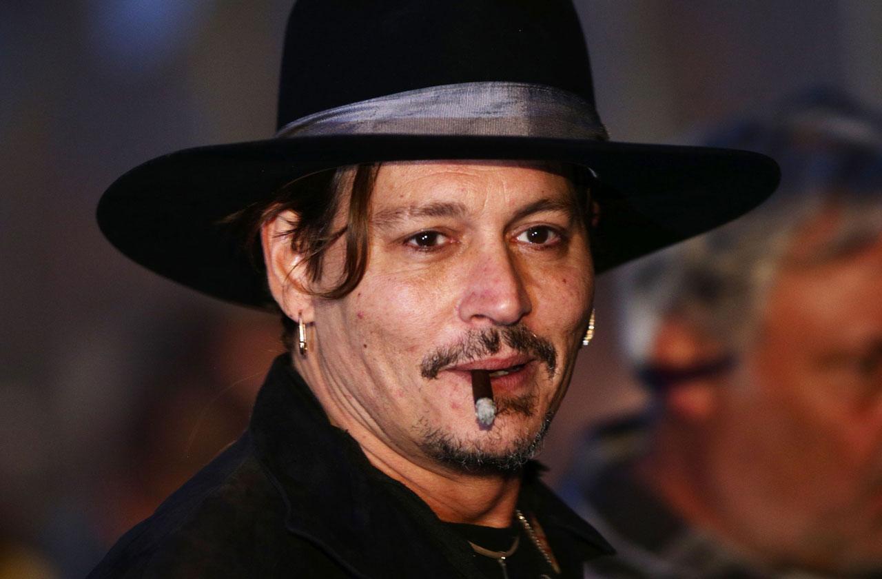 Johnny Depp New Low Incoherent Bender
