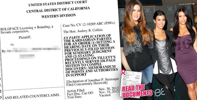 //kim khloe kourtney kardashian back in court wide