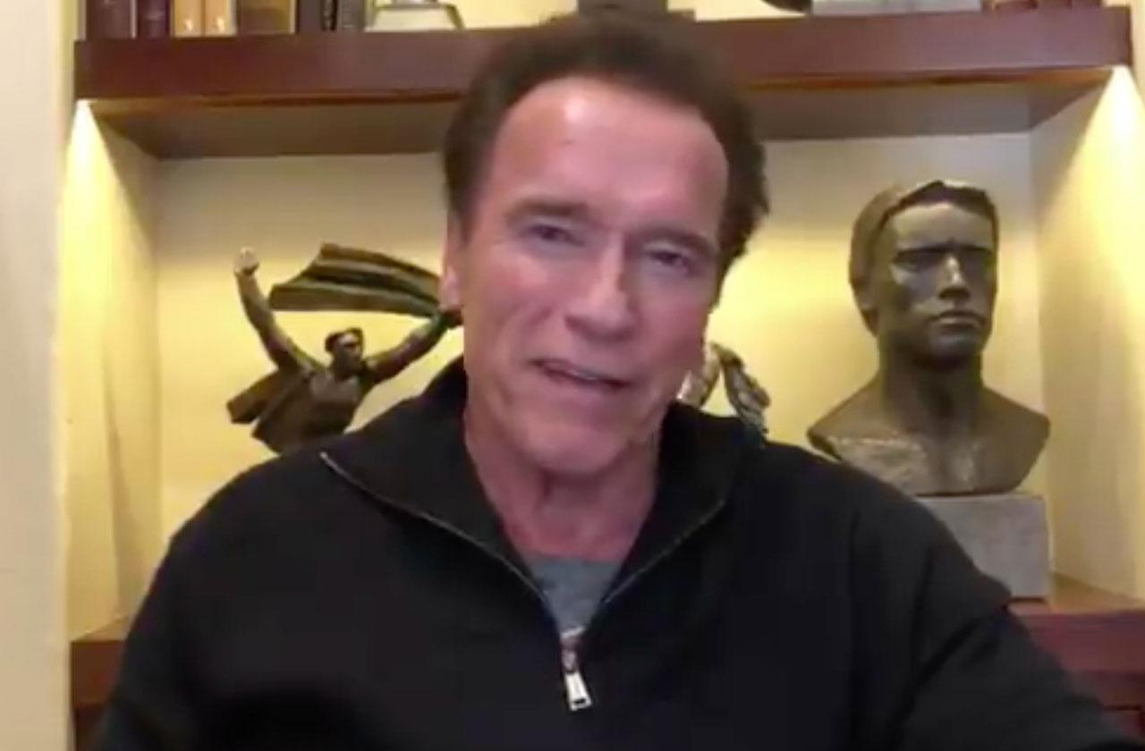 //Arnold Schwarzenegger Not Great After Heart Surgery pp
