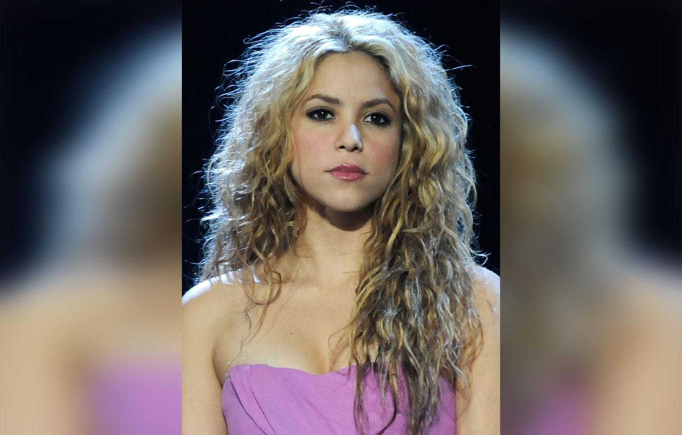 Shakira in her early days