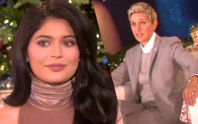 //Kylie Jenner Ellen DeGeneres Show PP