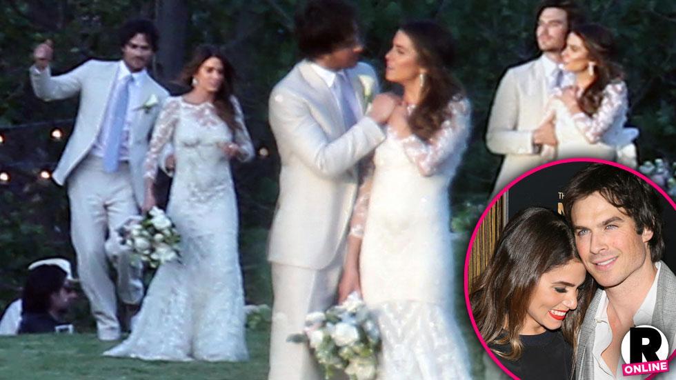 Nikki Reed & Ian Somerhalder Married -- Wedding Photos
