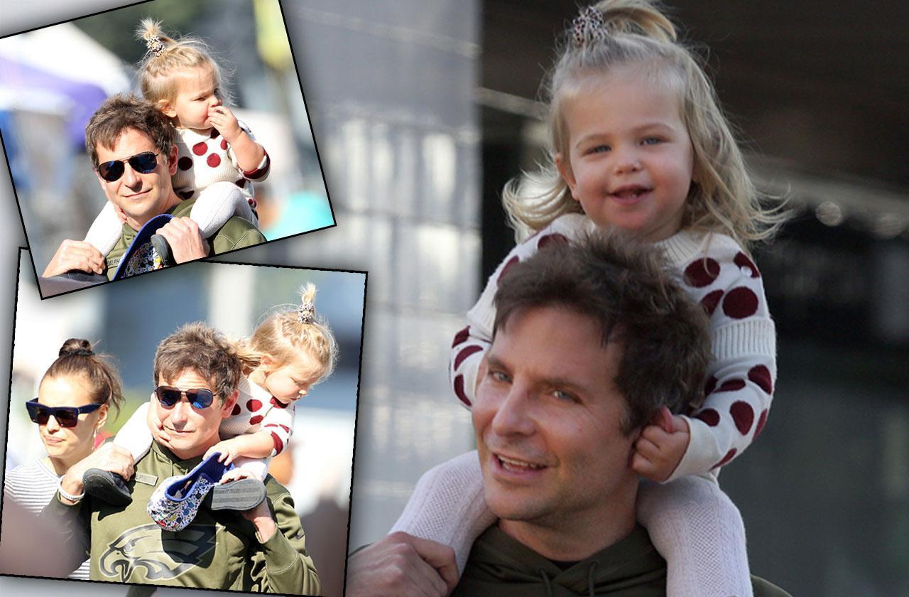 Bradley Cooper Irina Shayk Daughter Market