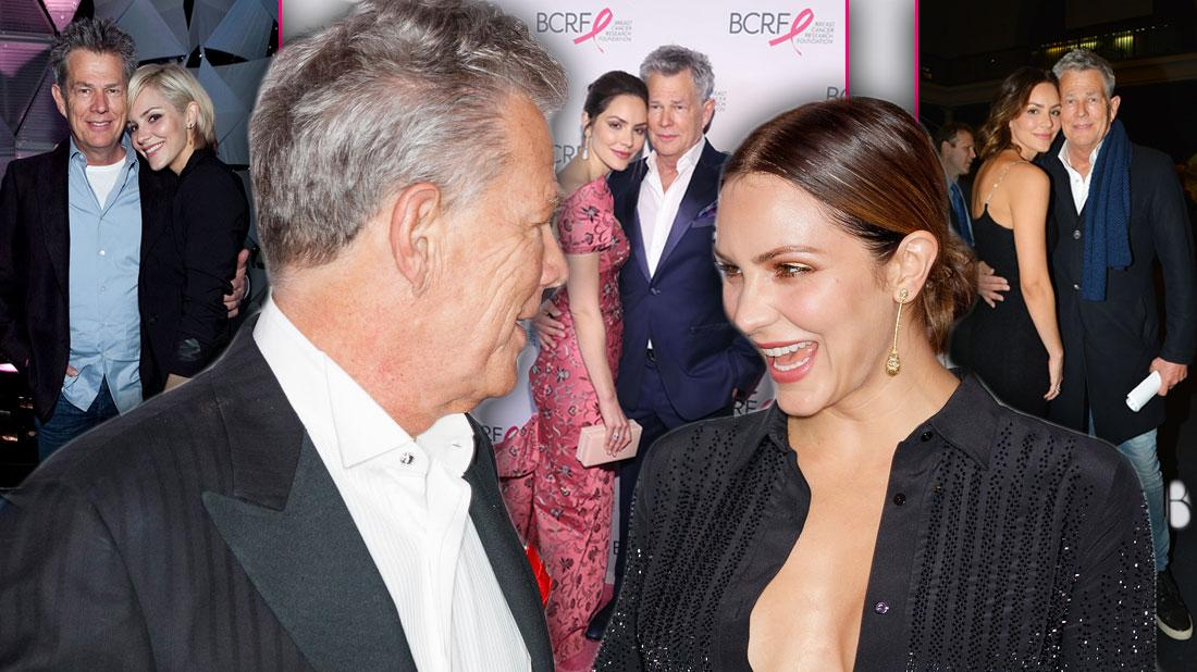 A Look At Katherine McPhee and David Foster's Most PDA Moments