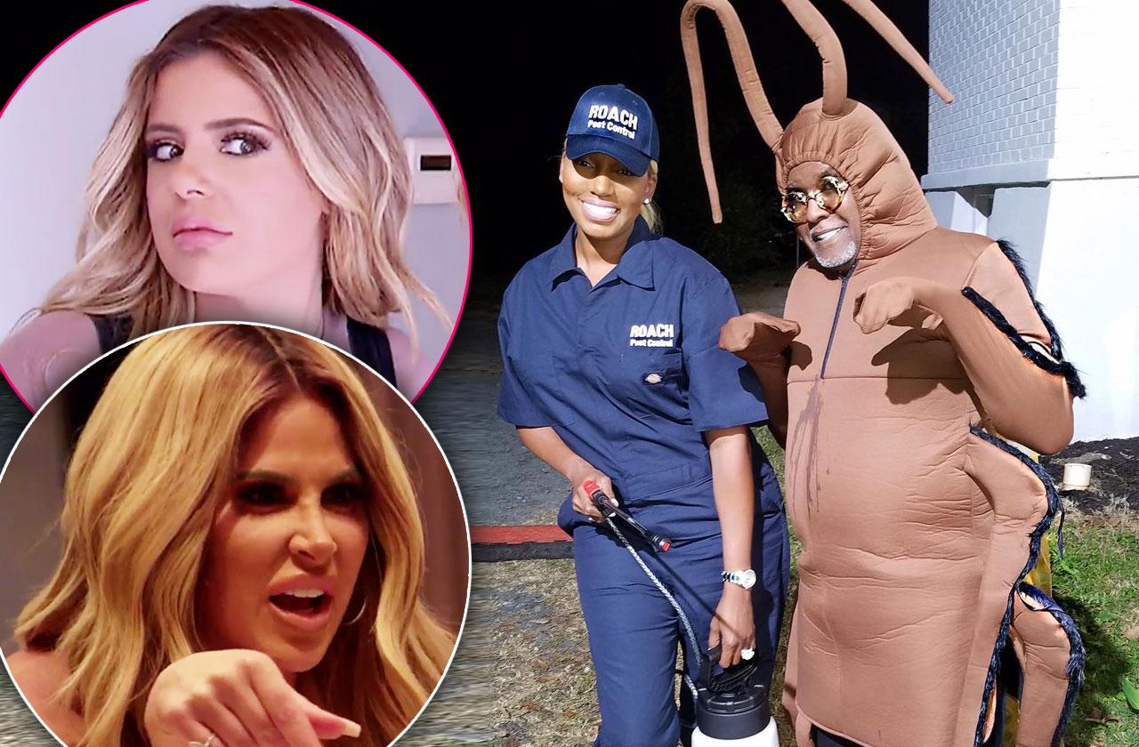 NeNe Leakes Cockroach Costume Brielle Kim Feud