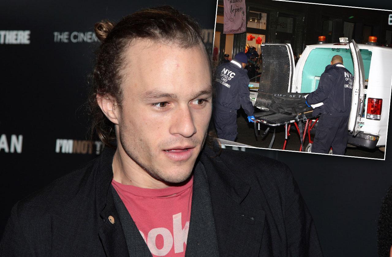 Heath Ledger Death New York City Scene