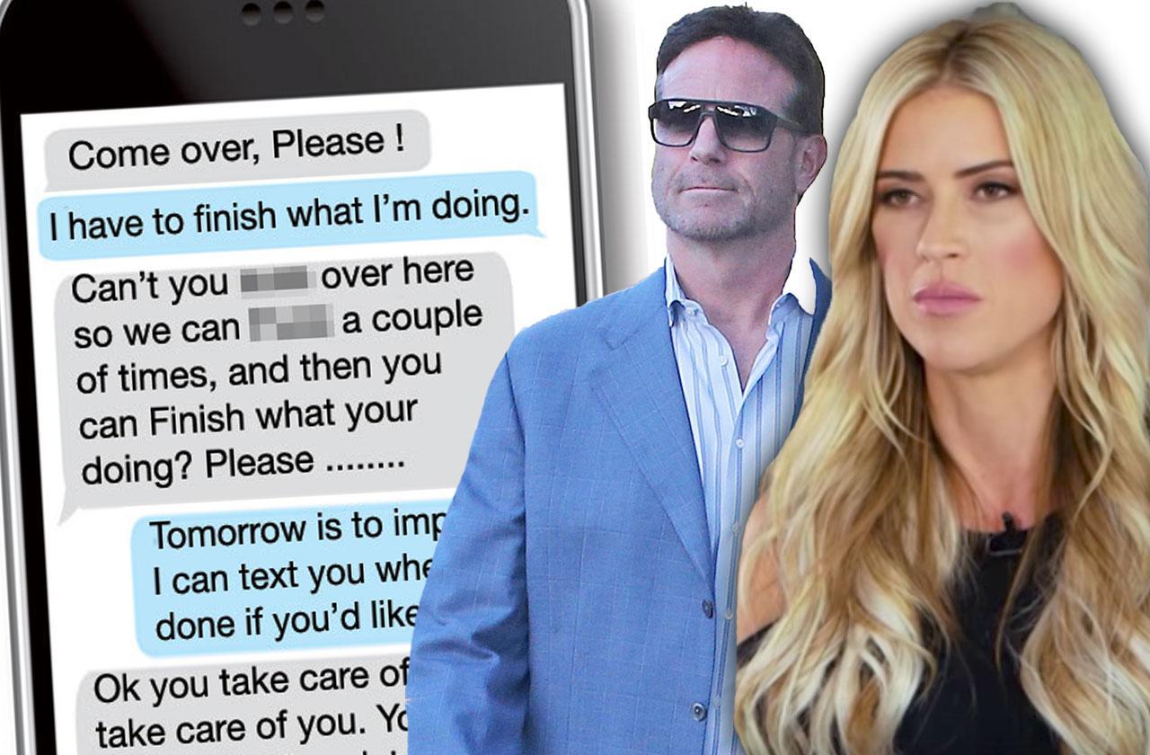 //tarek el moussa divorce christina el moussa boyfriend doug spedding cheating sexting pp