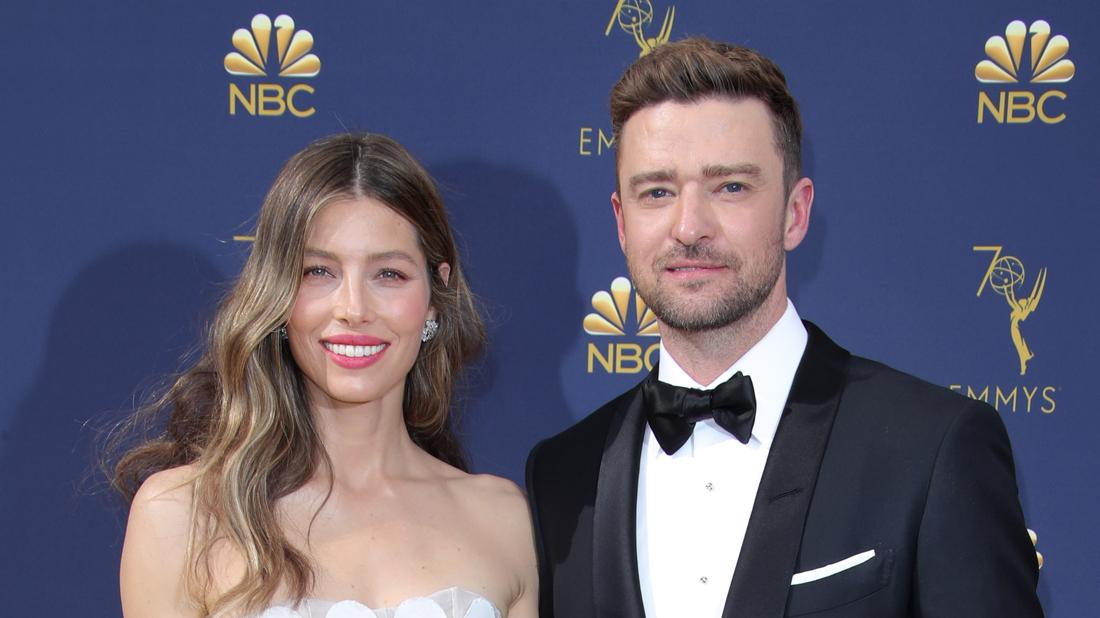 Justin Timberlake Writes Message To Valentine Jessica Biel