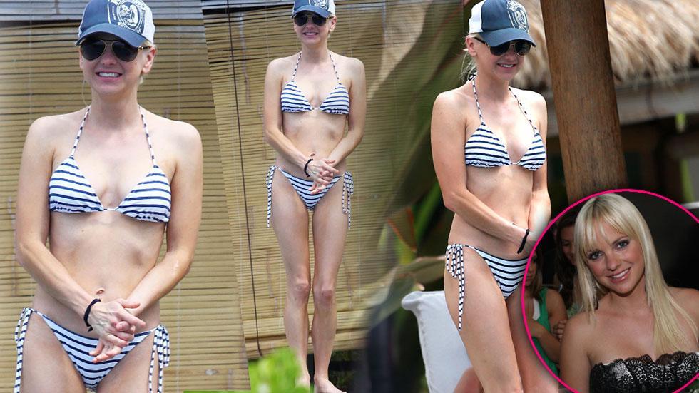 Anna Faris Bikini Skinny Chris Pratt Photos