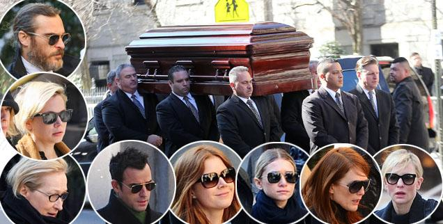 //philip seymour hoffman funeral