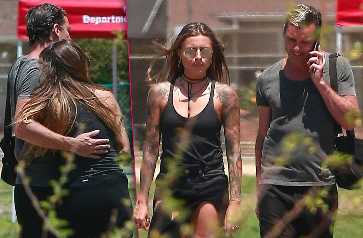 Gwen Stefani Ex Gavin Rossdale Walks Dog With Galpal Sophia Thomalla