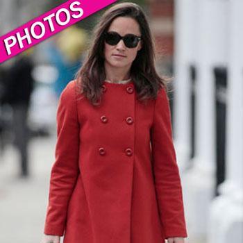 //pippa middleton red coat zara splash