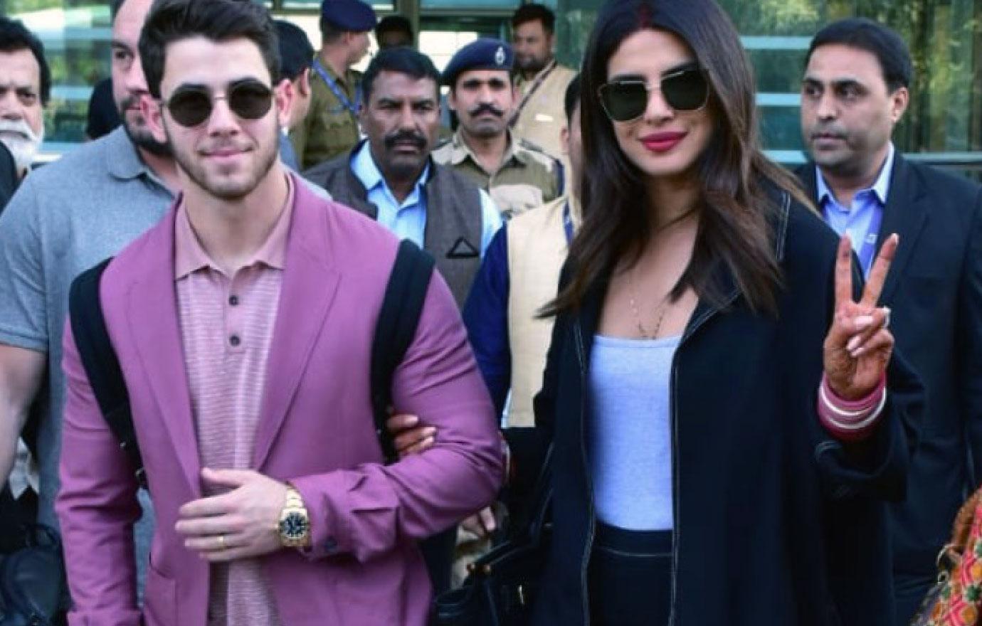 Newlyweds Nick Jonas And Priyanka Chopra Attend Another Wedding