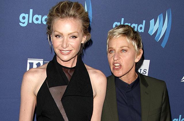 //Ellen DeGeneres Drunk Portia De Rossi Rehab pp