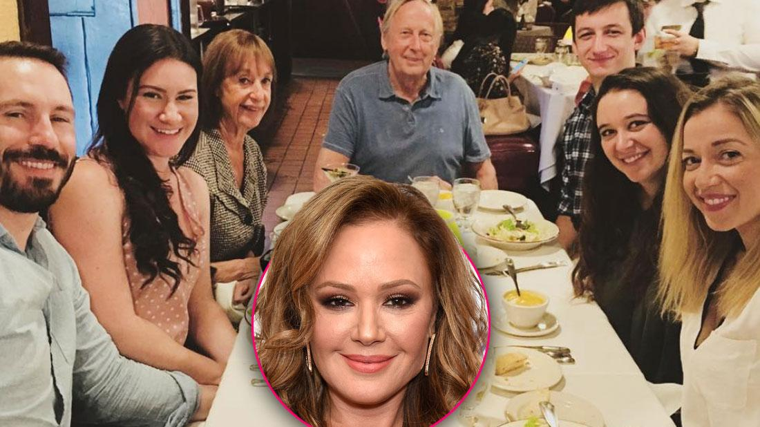 Leah Remini's Family Adopts Sister's Ex After He's Disowned For Leaving Scientology