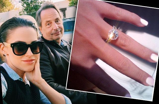 //jessica lowndes jon lovitz shocking secret romance engagement photos