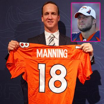 //peyton manning signs denver broncos