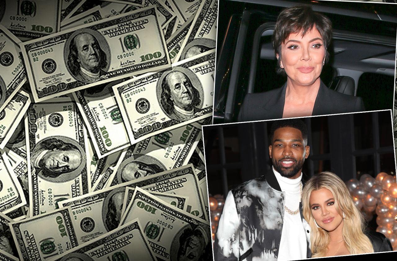 //Khloe Kardashian Tristan Thompson Money pp