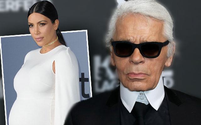 Karl Lagerfeld Praises Kim Kardashian Fashion