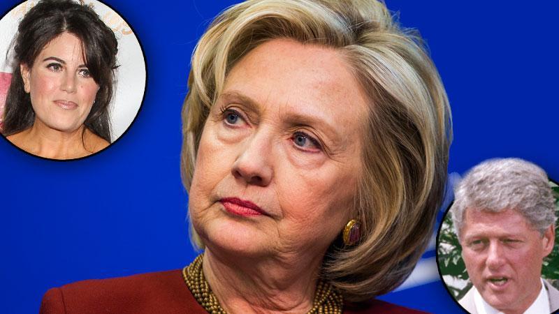 Hillary Clinton Monica Lewinsky Scandal