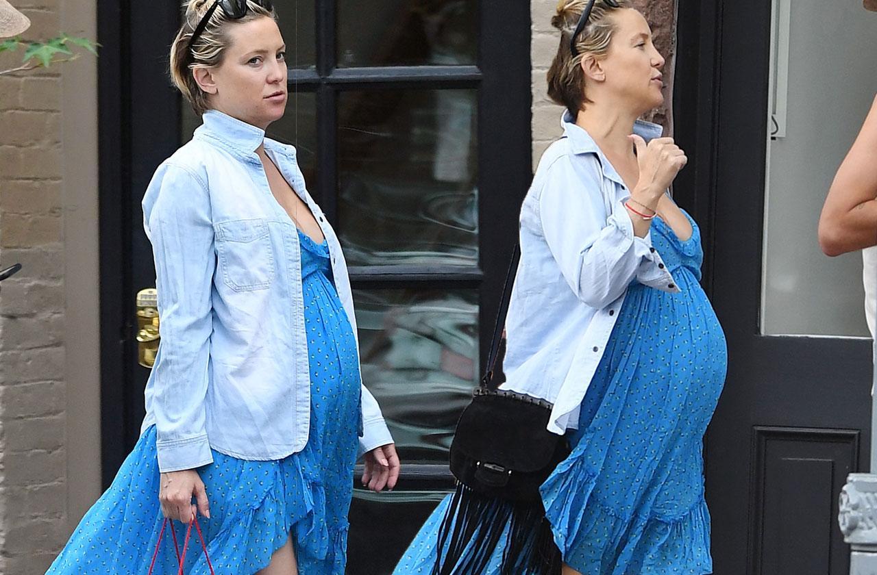 Kate Hudson Baby Bump Boyfriend
