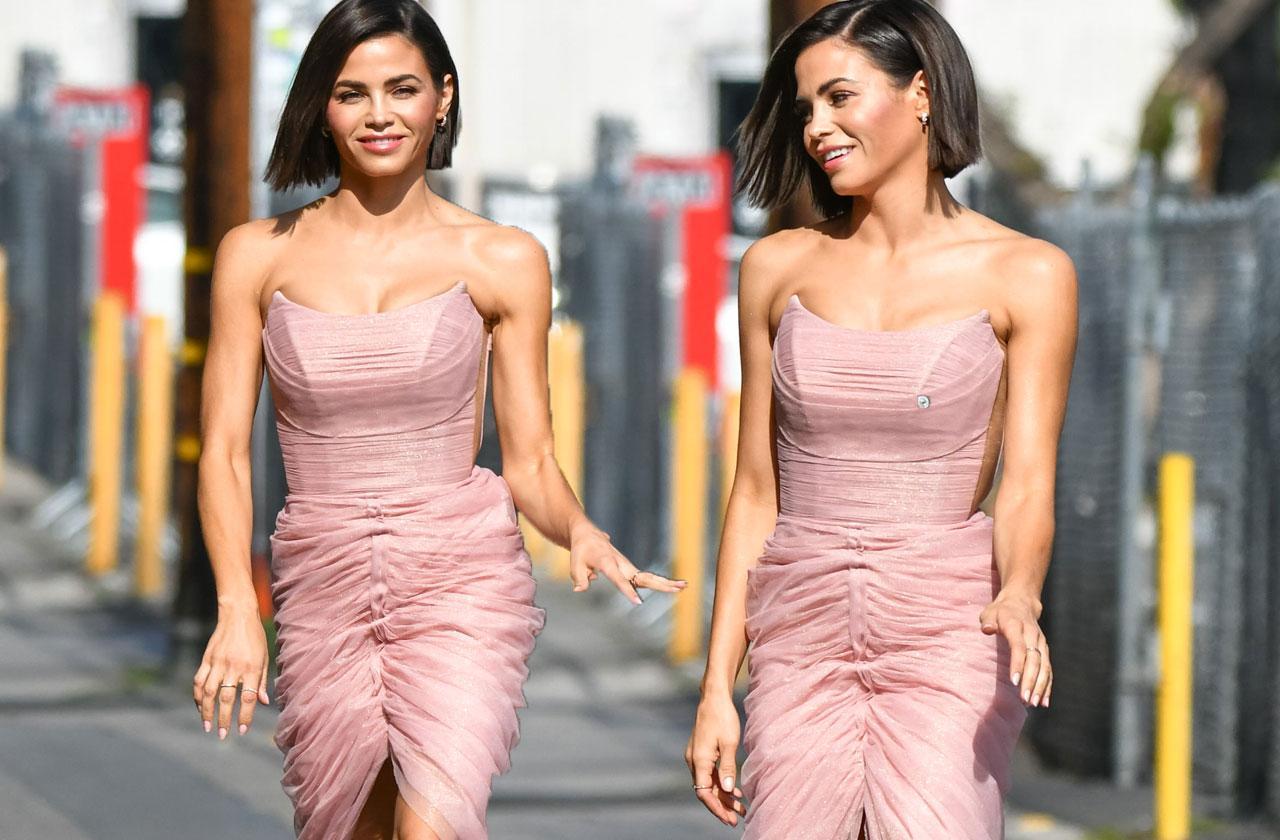 Jenna Dewan Curves Dress Split