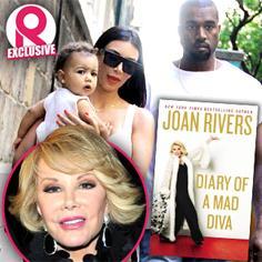 //joan rivers kim kardashian fued book diary mad diva kanye west north sq