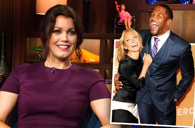 //kelly ripa michael strahan live feud bellamy young tension pp