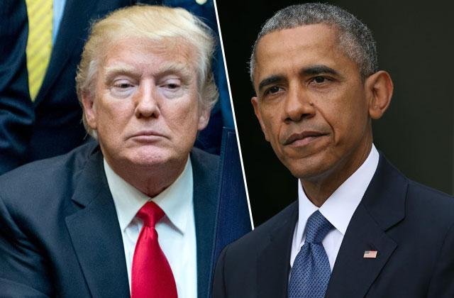 //donald trump barack obama plot impeach leaks protests pp