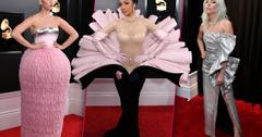 Grammys red carpet arrivals stars celebrities
