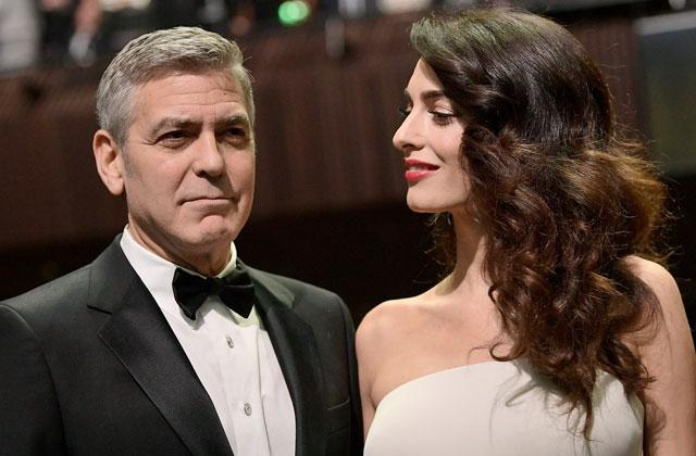 George Clooney and Amal Clooney Separate Beds