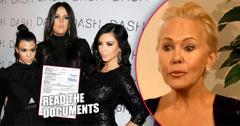 ellen-kardashian kim-kourtney-documents