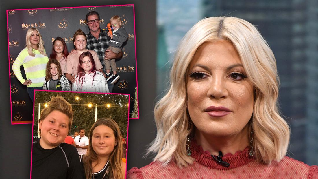 Tori Spelling Reveals Two Children 'Bullied' At School