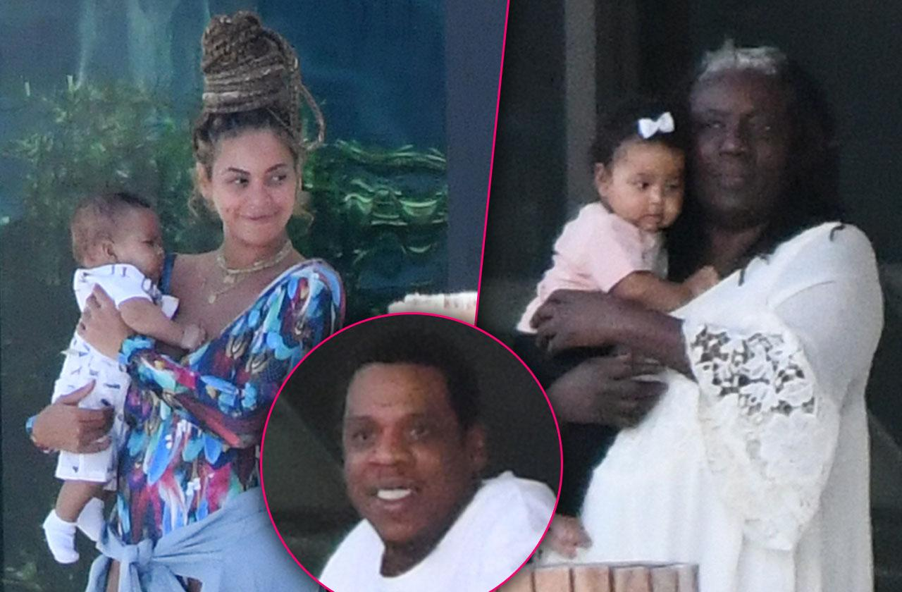 Beyonce twins first photos
