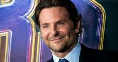 Bradley Cooper on the red carpet in a suit.