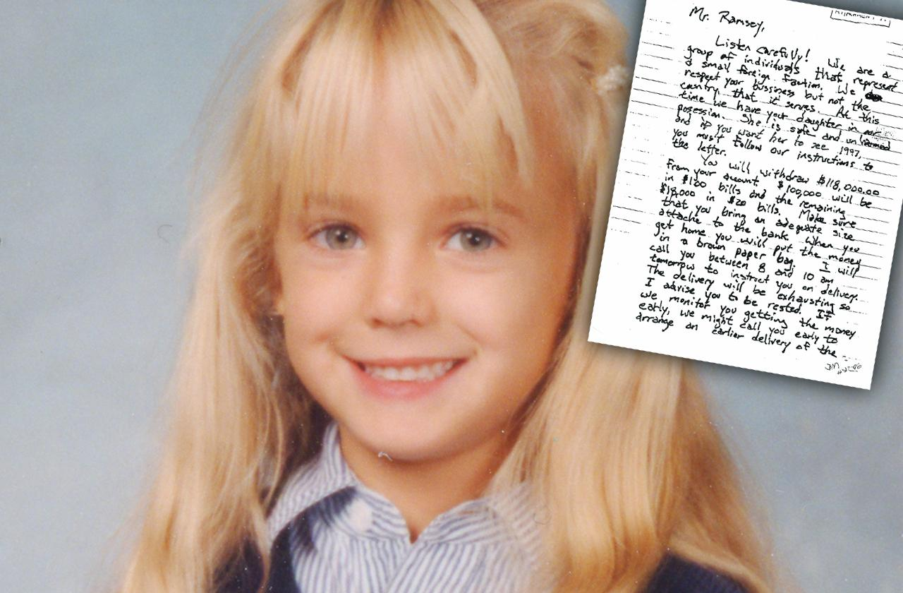 JonBenét Ramsey Ransom Note Coded Messages