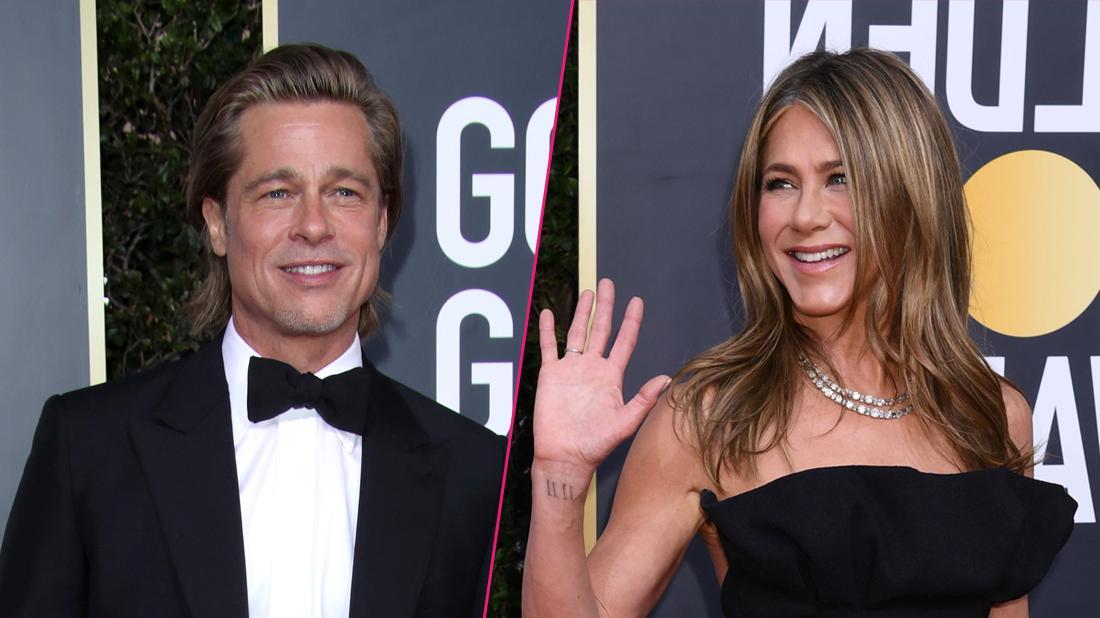 Brad Pitt Says Jennifer Aniston Is A 'Good Friend' At Golden Globes