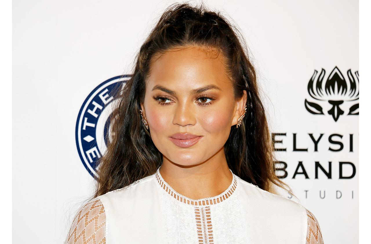 Chrissy Teigen at the Art of Elysium Celebrating the 10th Anniversary held at the Red Studios in Los Angeles, USA on January 7, 2017.