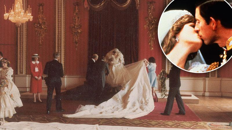 Never Before Seen Photos Of Princess Diana Wedding To Prince Charles