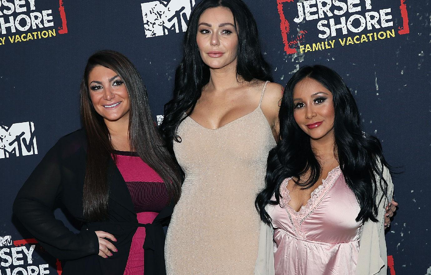 Jersey Shore Female Stars Have Baby Shower Reunion