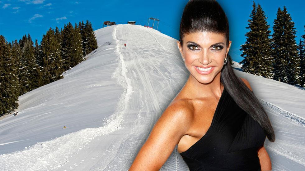 //teresa giudice skiiing