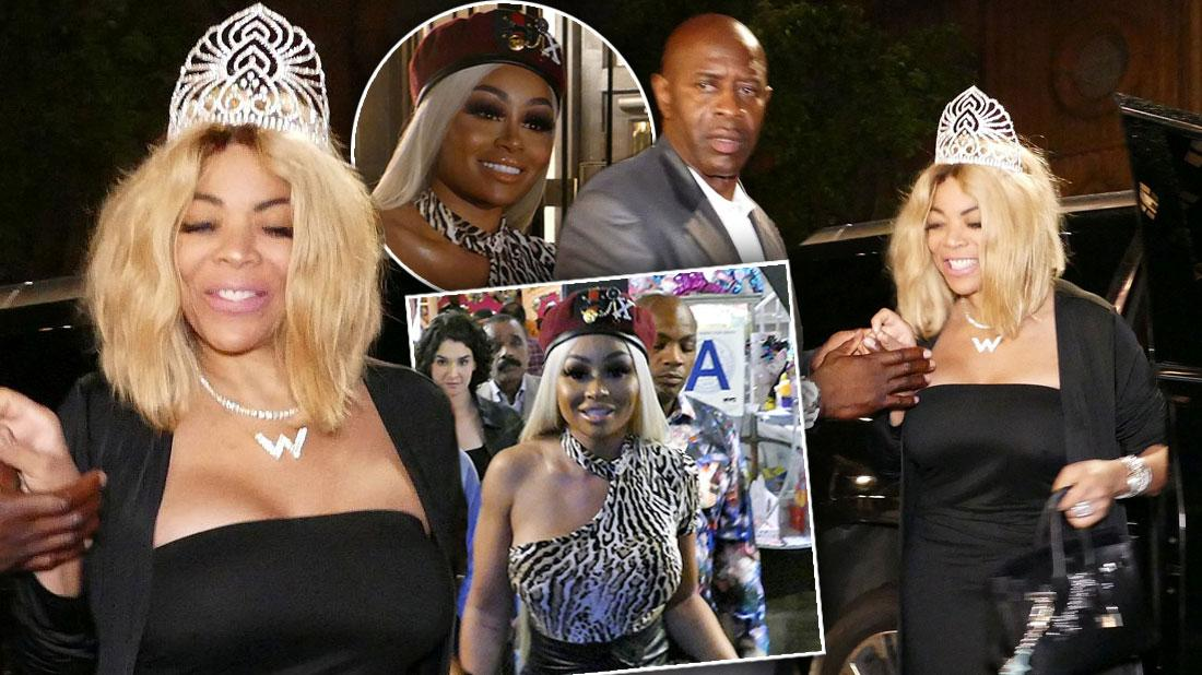 Wendy Williams Wears Princess Outfit On Birthday With Blac Chyna