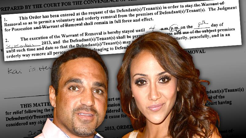 //melissa joe gorga tenant hell secret eviction history squatting read docs pp