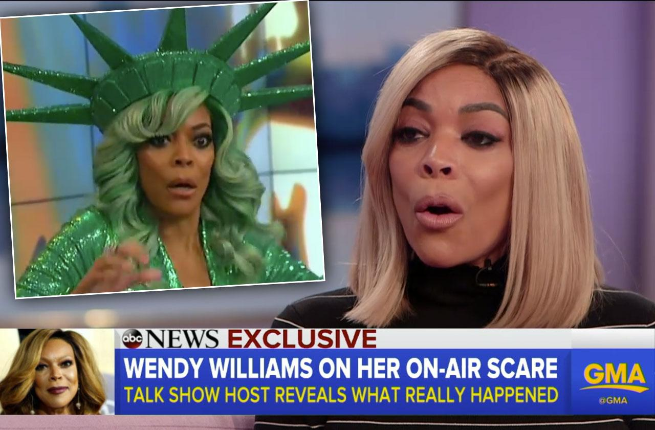 Wendy Williams Menopause TV Collapse