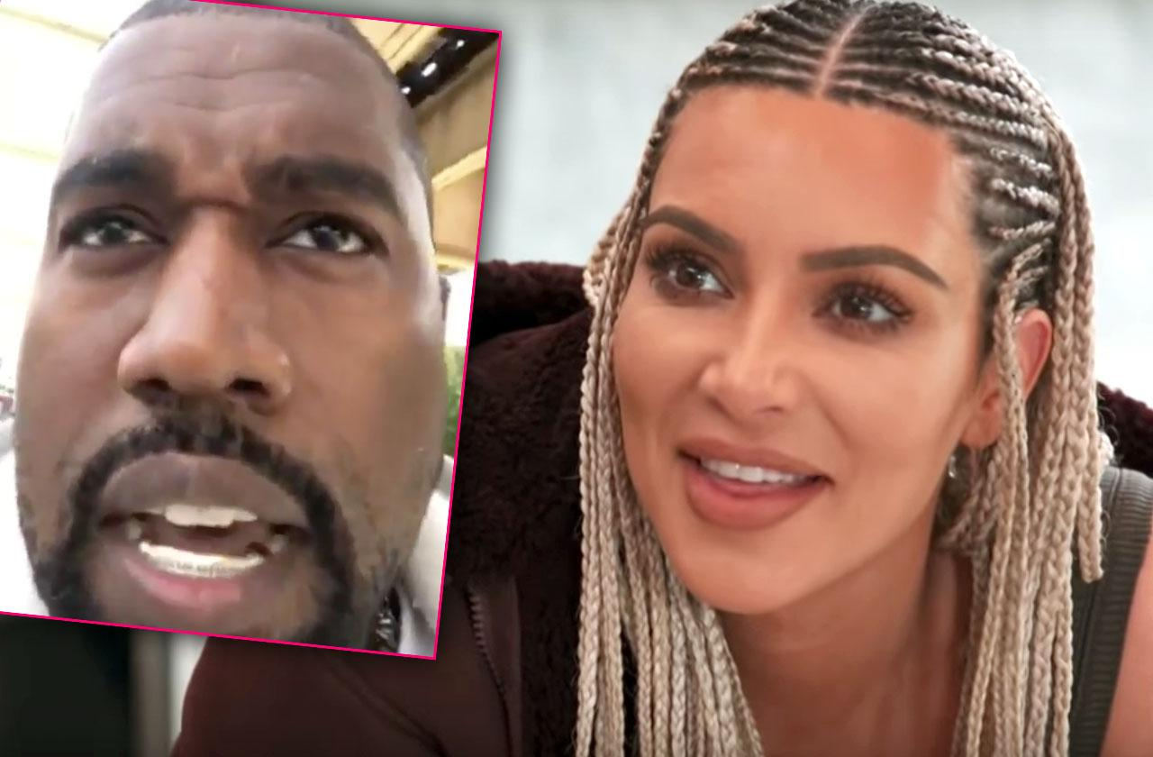 //Kanye West Kim Kardashian Relieved pp