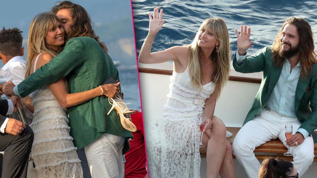 Heidi Klum And Husband Tom Kaulitz Have Second Wedding Party