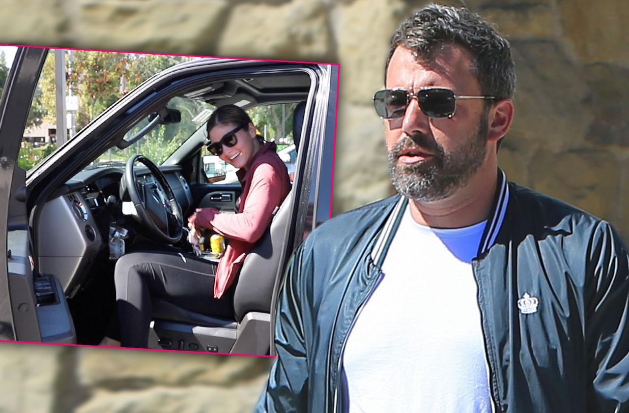 //Ben Affleck Takes Car Shauna Sexton House pp