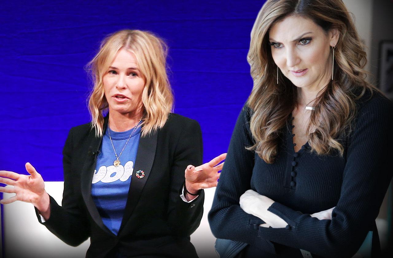 Chelsea Handler Heather McDonald Fight Lies