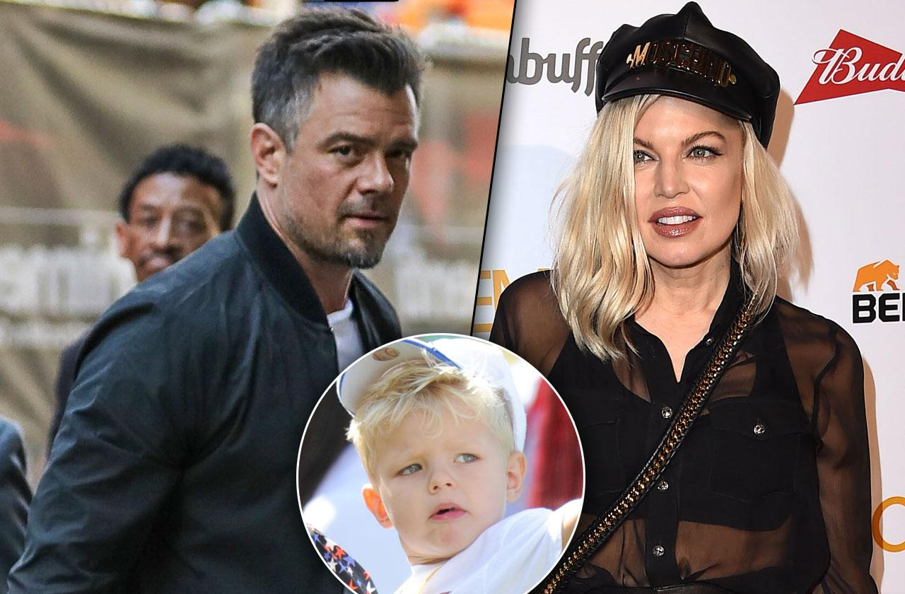 //Fergie Josh Duhamel Custody Battle pp
