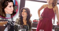 jacqueline laurita feud teresa giudice friendship over rhonj recap season 7 episode 16